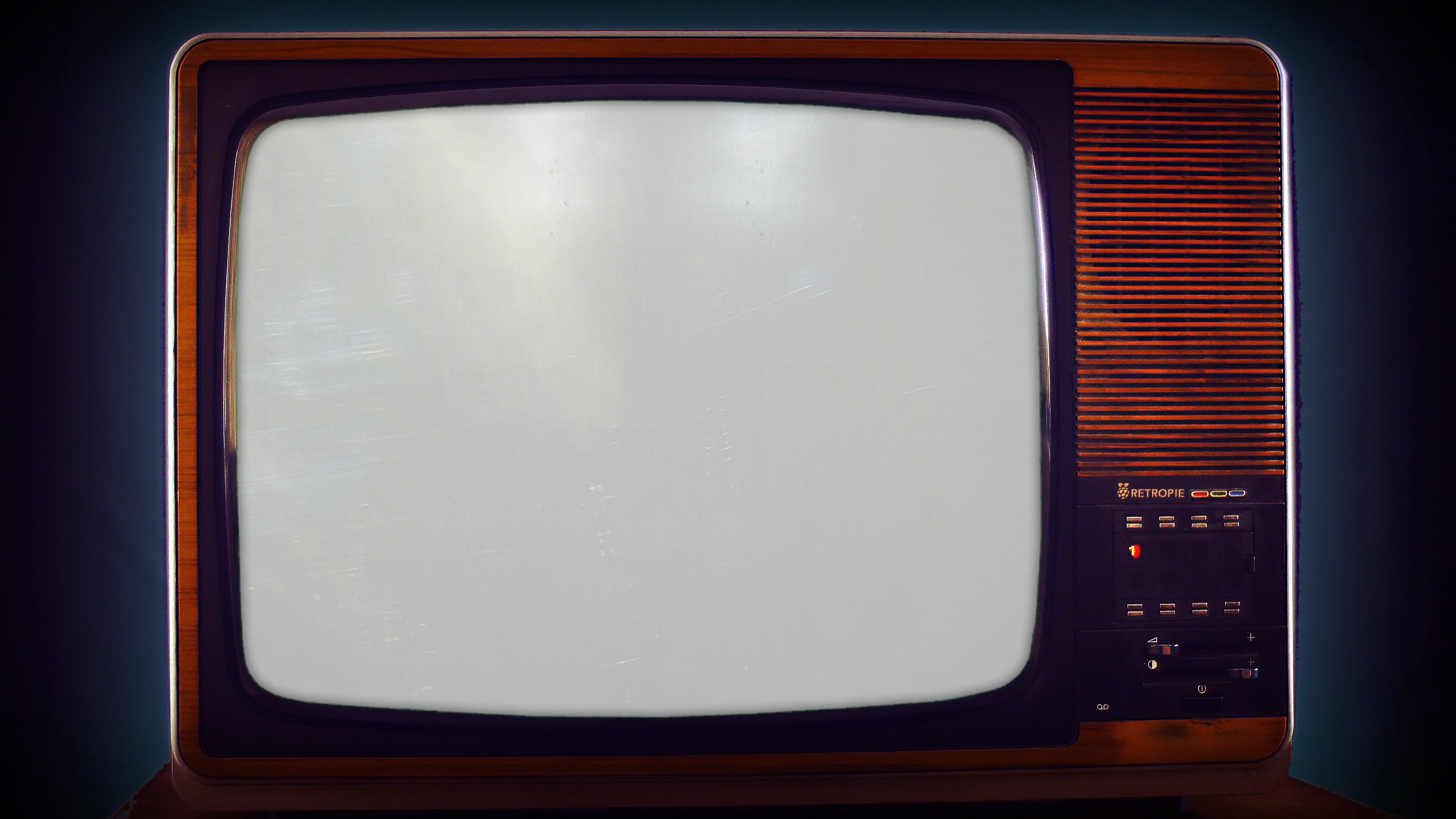 Tv overlay png. Just started with retropie
