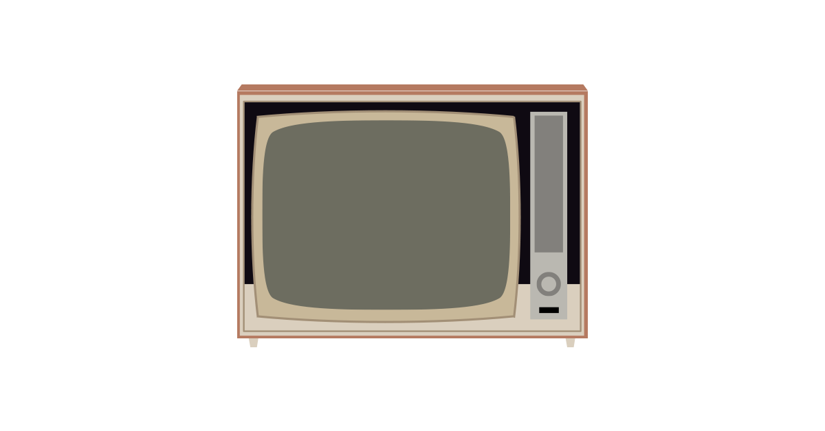 vector television graphic