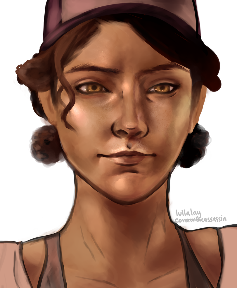 Twd drawing clementine. Season transparent by lullalay