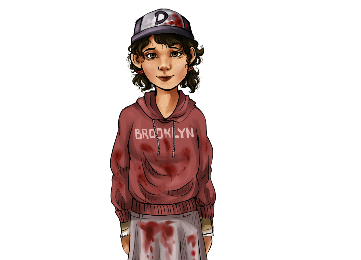 Twd drawing clementine. Lee and on videogame