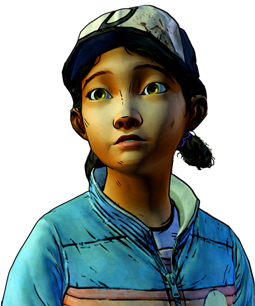 Twd drawing clementine. Image nr png walking