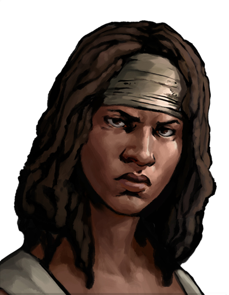 Twd drawing michonne. Road to survival walking