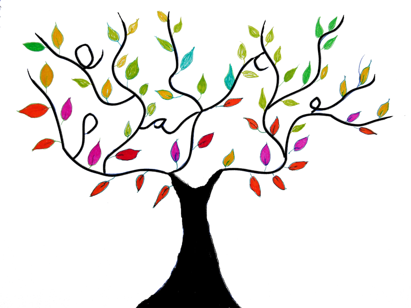 Twig drawing branch. Tree design transparent png