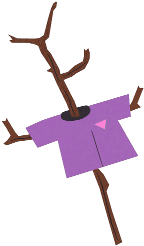 Twig vector. Sticks black and