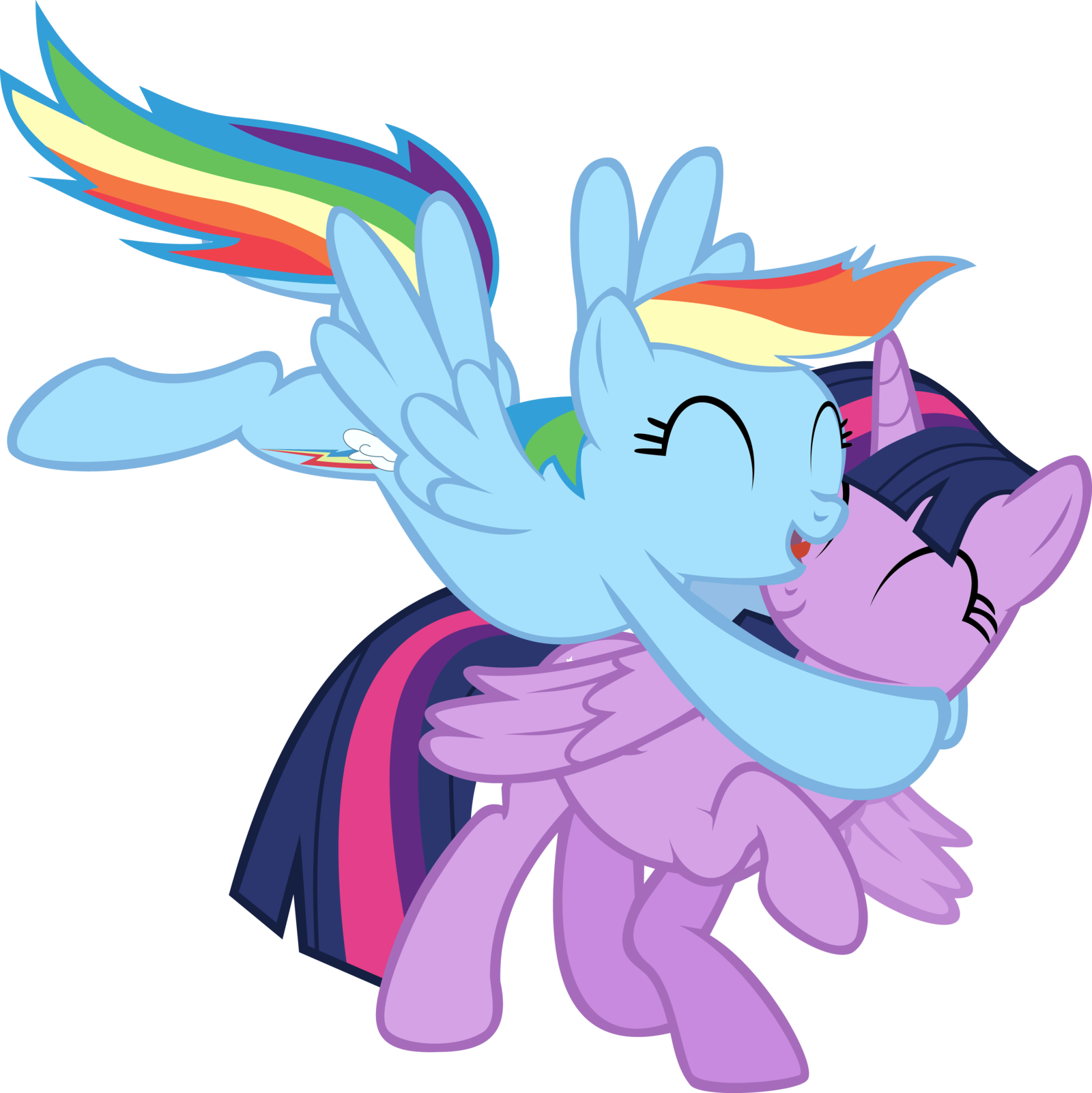 - Twilight Sparkle And Rainbow Dash Mud Png, Picture #774835