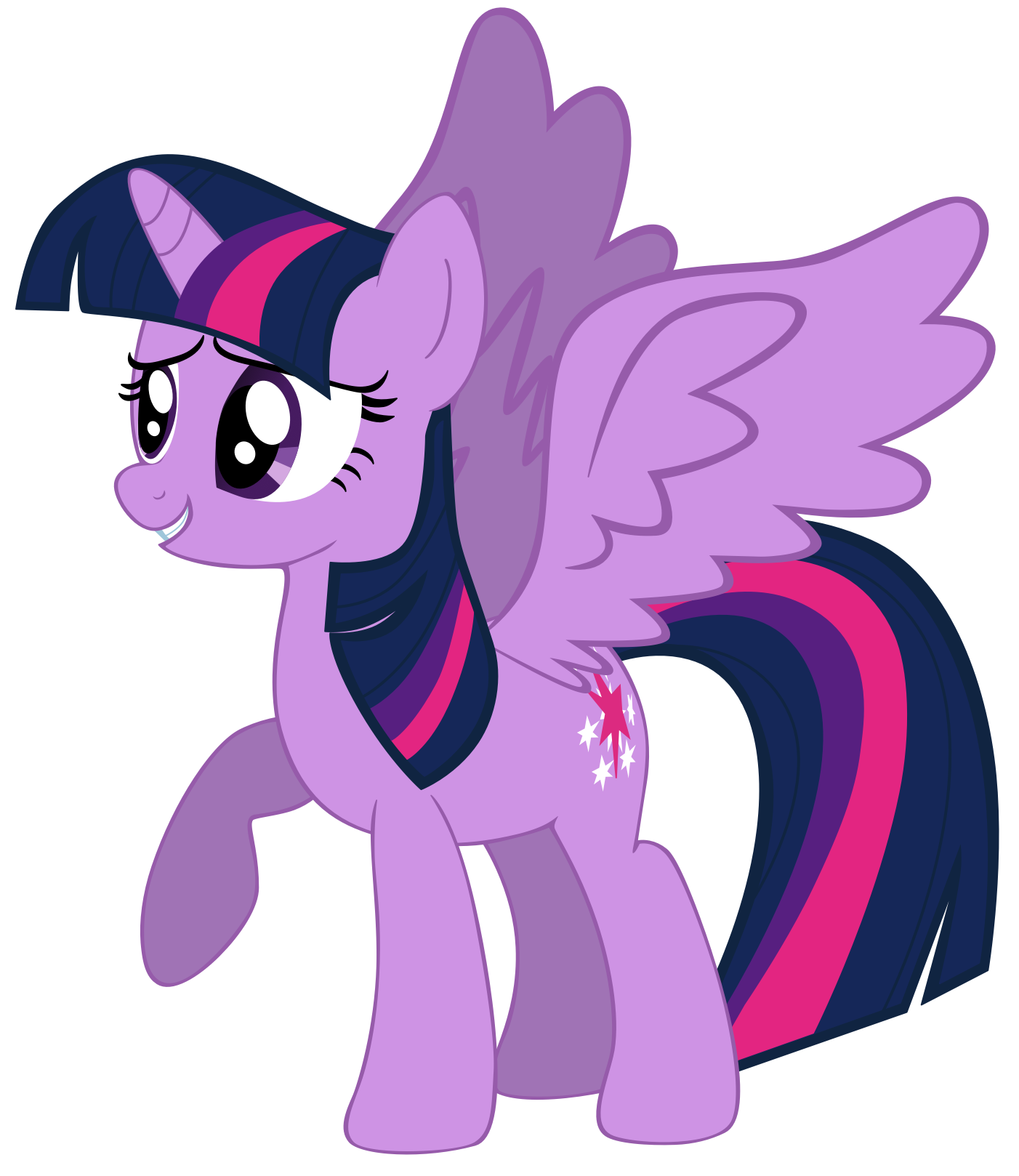 Twilight sparkle png. Image fanmade smiling princess