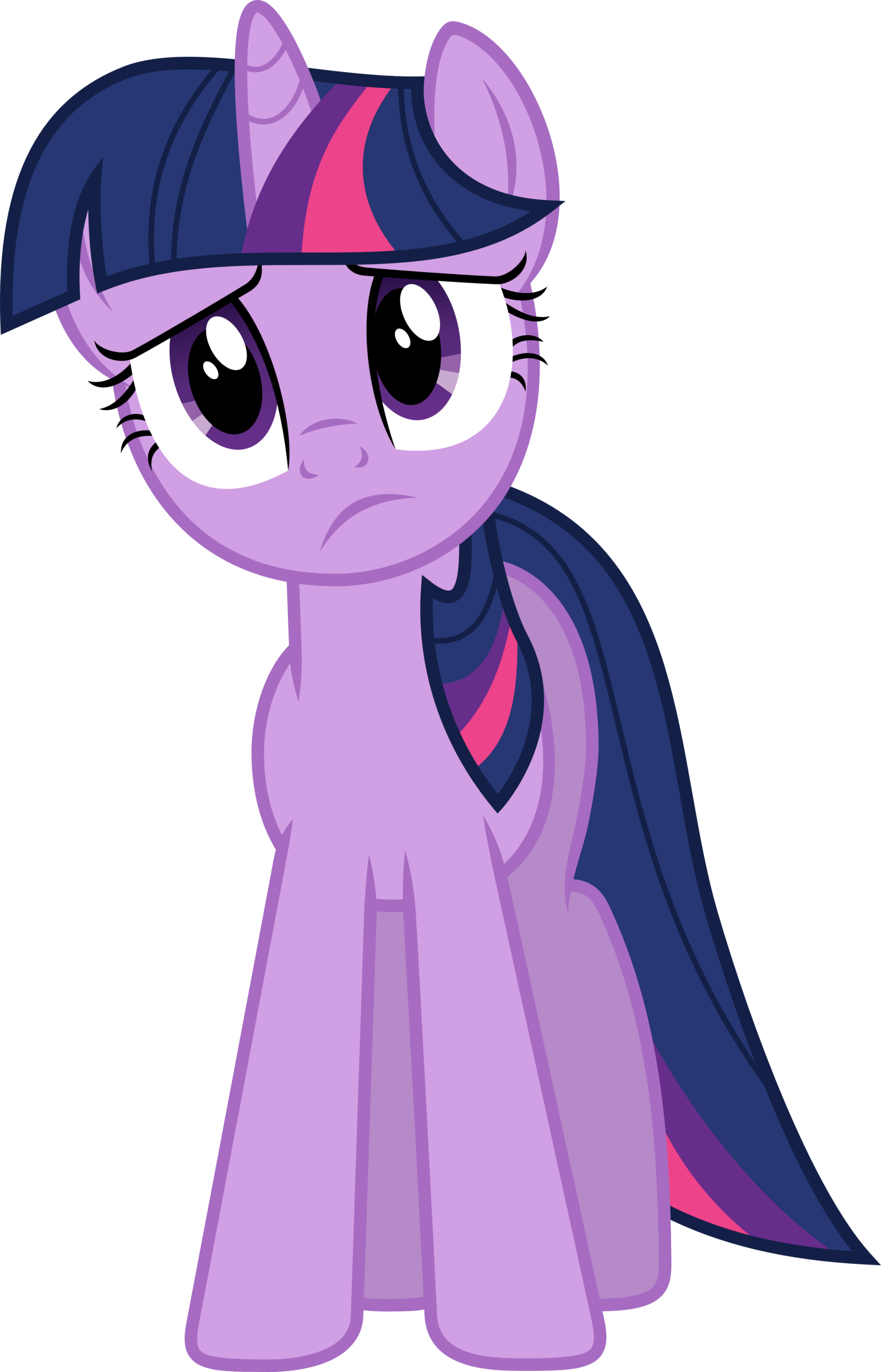 Twilight vector front. Sparkle by xpesifeindx on