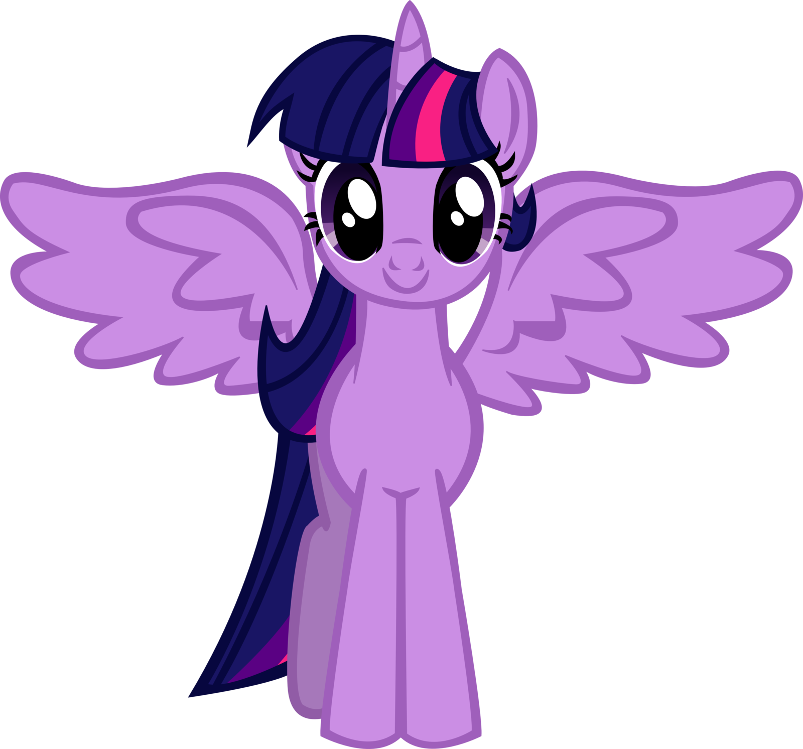 Twilight vector wing. Image sparkle alicorn controversy
