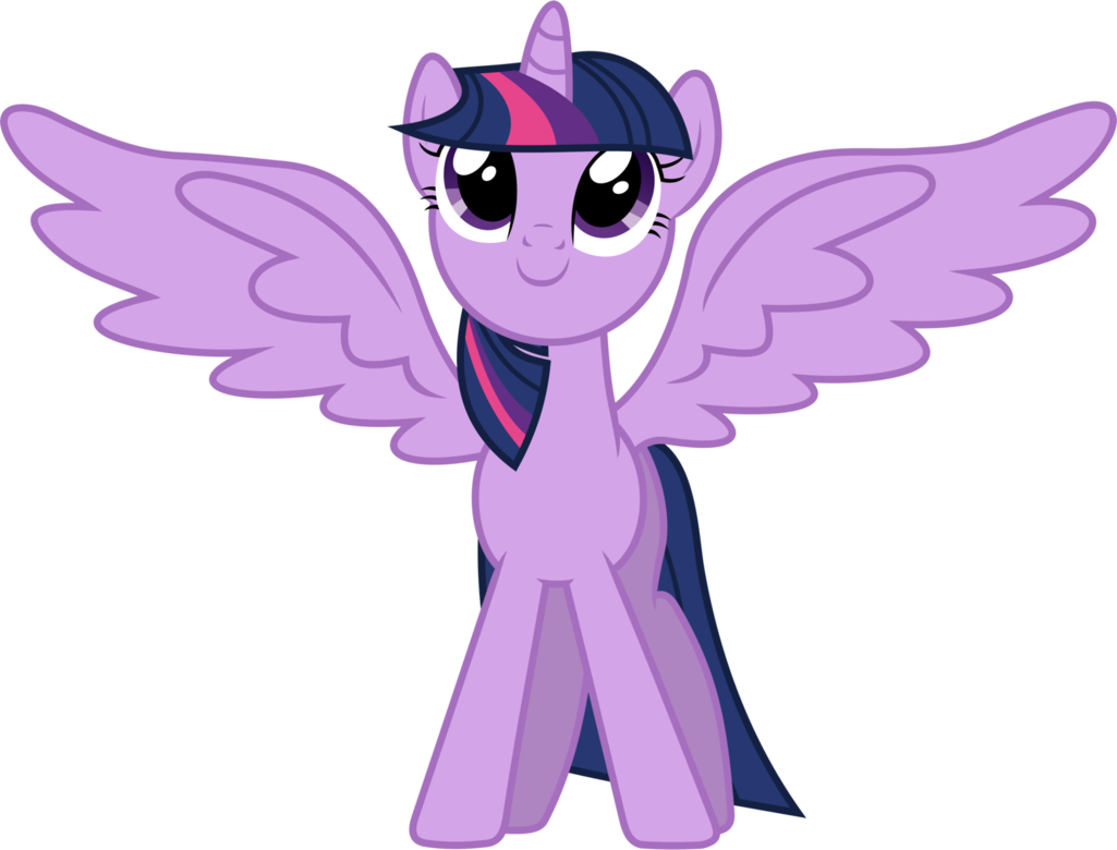 Twilight vector wing. Sparkle showing off by