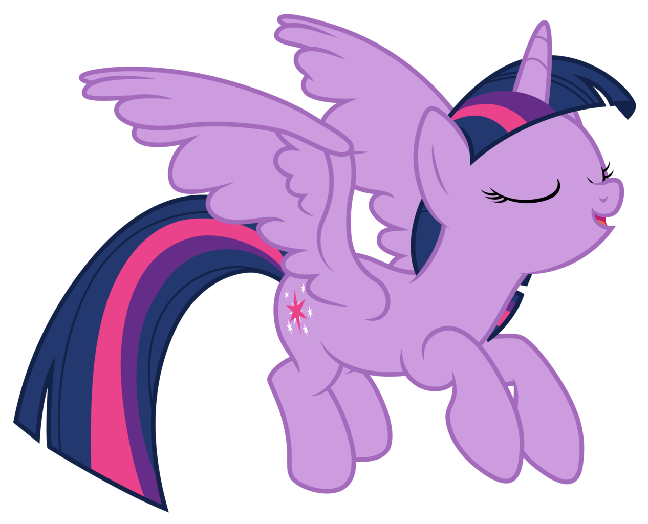 Twilight vector wing. Ai available alicorn