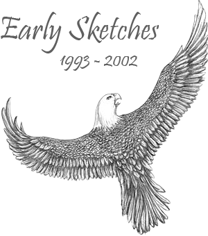 Twin drawing eagle. A collection of early