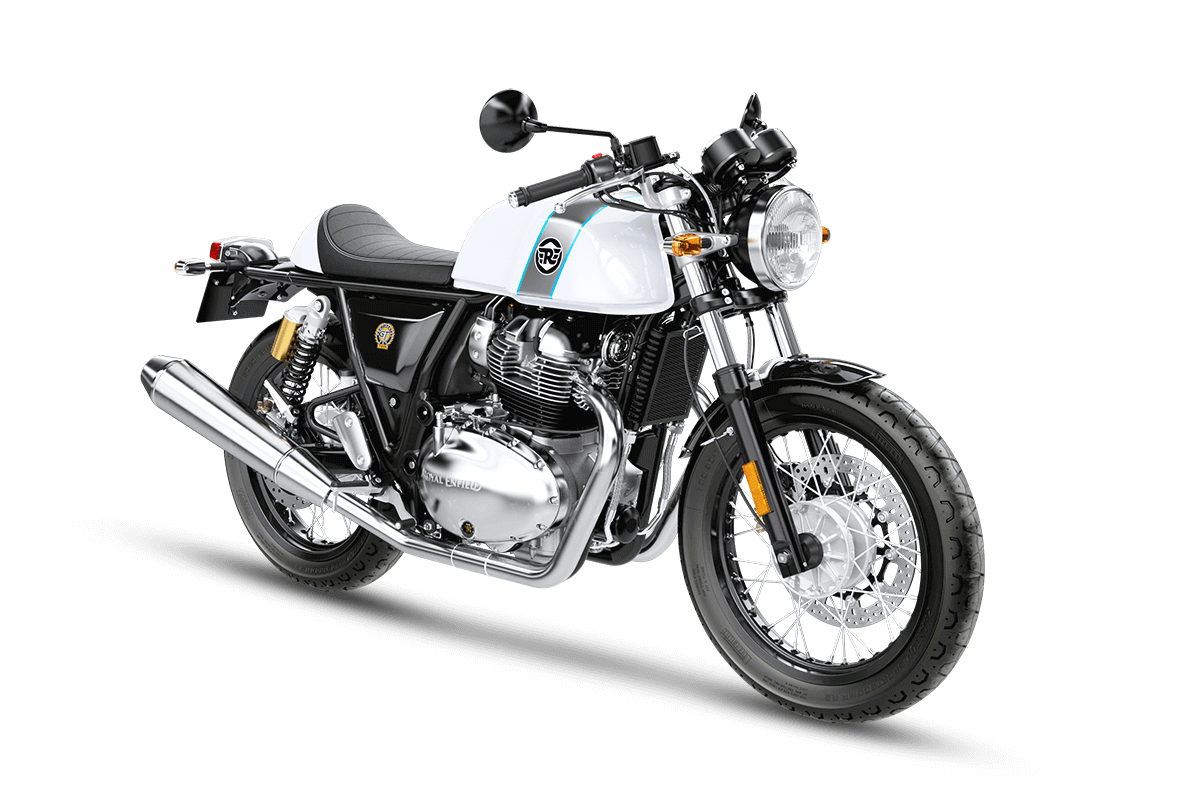 Twin drawing ice. Royal enfield continental gt