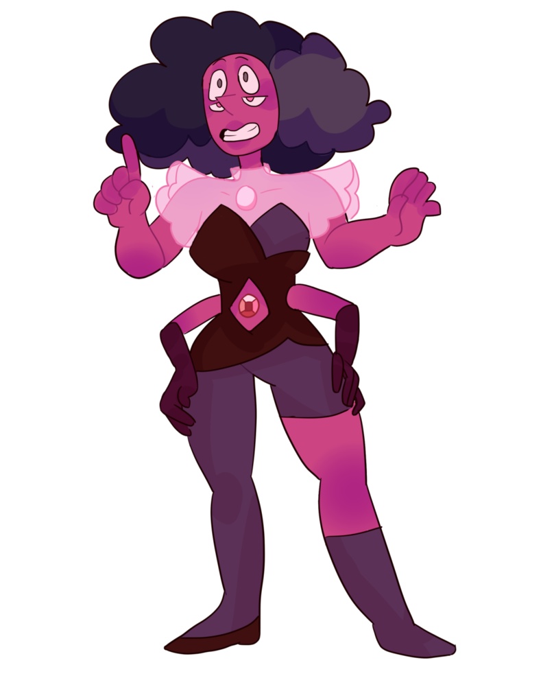 Twin drawing illusion. Rhodonite by mari golds