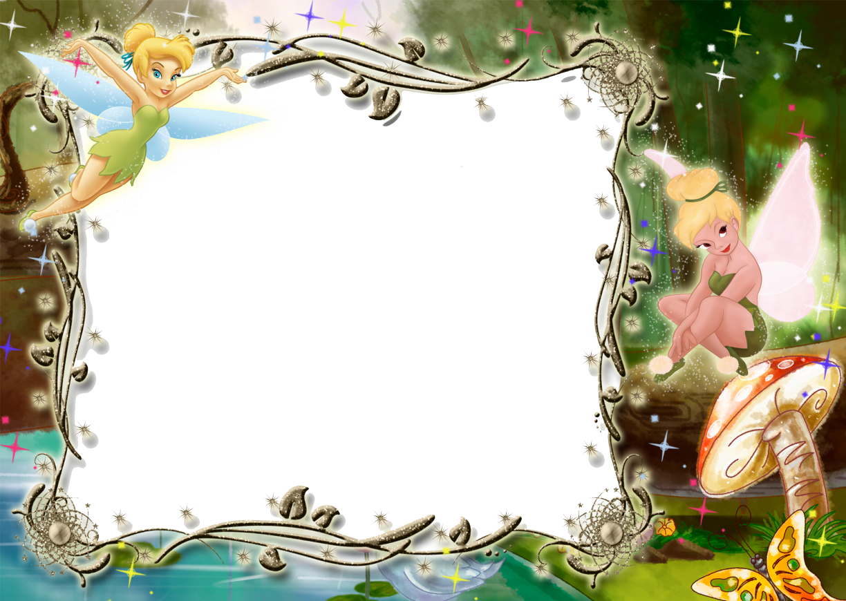 Twinkle bell png. Kids transparent photo frame