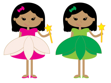 Twin drawing pretty girl. Free twins cliparts download