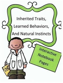 Twins clipart inherited trait. Traits learned behaviors and