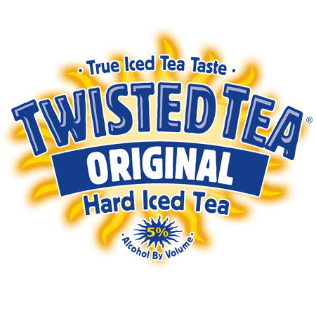 Twisted tea logo png. Domestic and import beverages