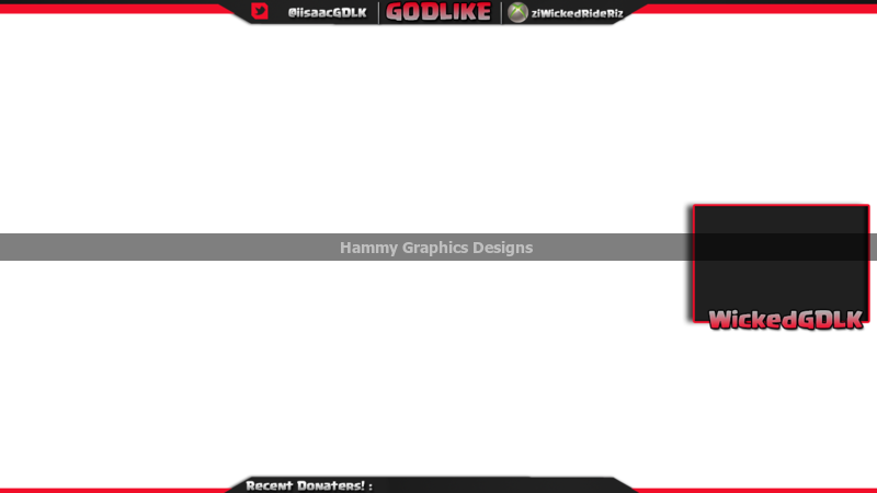 Youtube overlay template png. Hamfx twitter and twitch