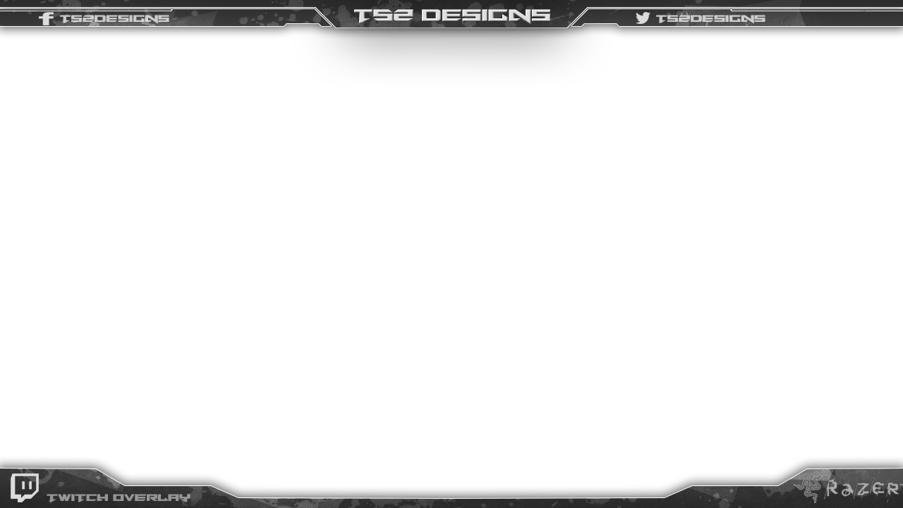 Webcam borders png. Twitch overlay new service