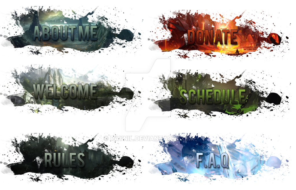 Twitch buttons png. V by raynil on