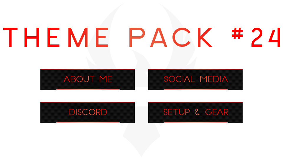 Twitch buttons png. Free panel theme packs
