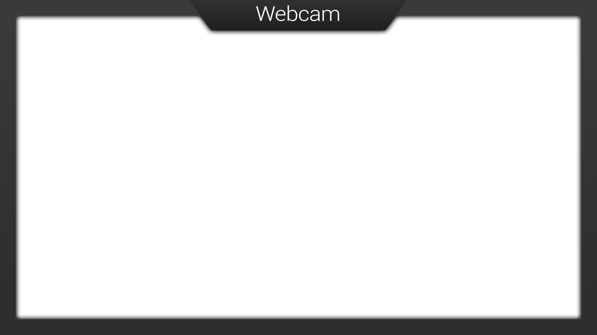 Webcam overlay png. Need a twitch se