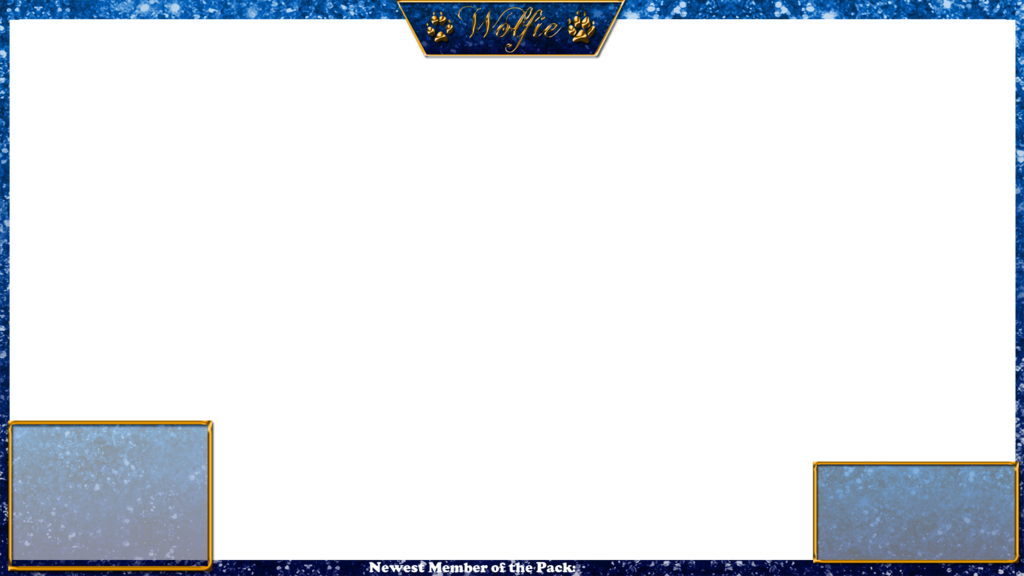 Twitch camera overlay png. With and info boxes