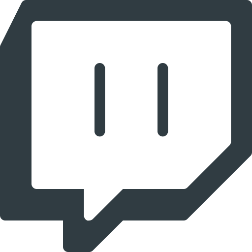 Twitch icon png. Media logo social size