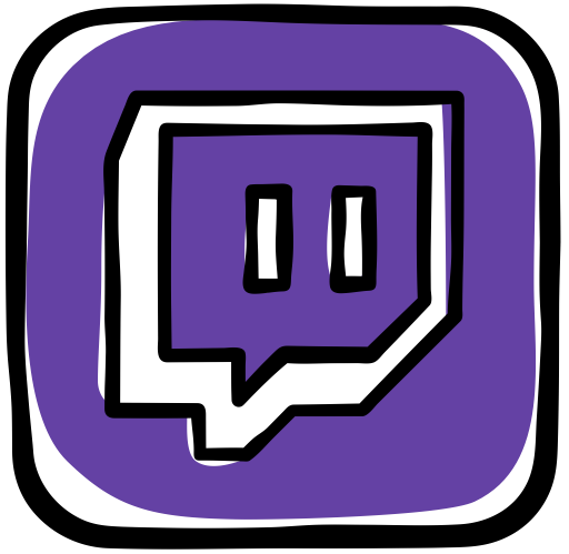 Twitch icon png. Svg more