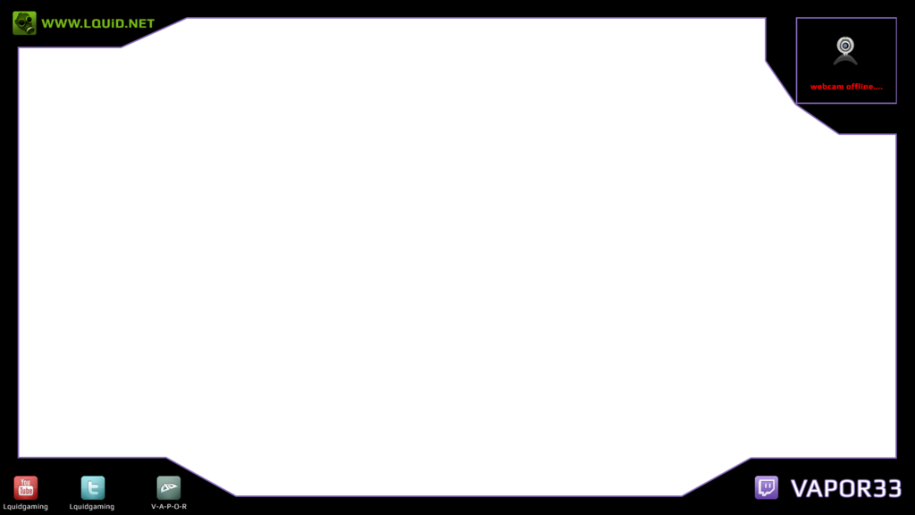Twitch ninja png. Overlay by vapor nobg