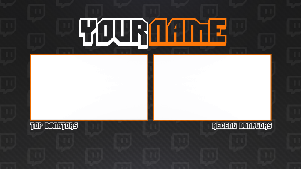 Twitch Banner Transparent & PNG Clipart Free Download - YA-webdesign