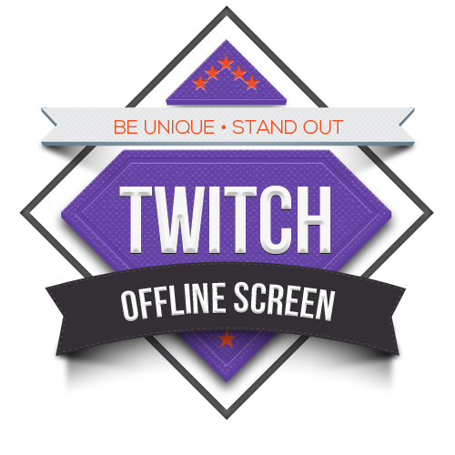Offline transparent. Twitch tile screen