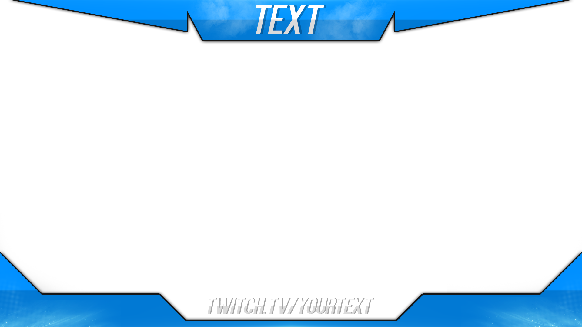 Stream overlay template png. Twitch psd images