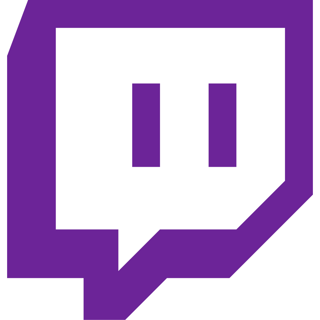 Twitch png logo. Image app covert front