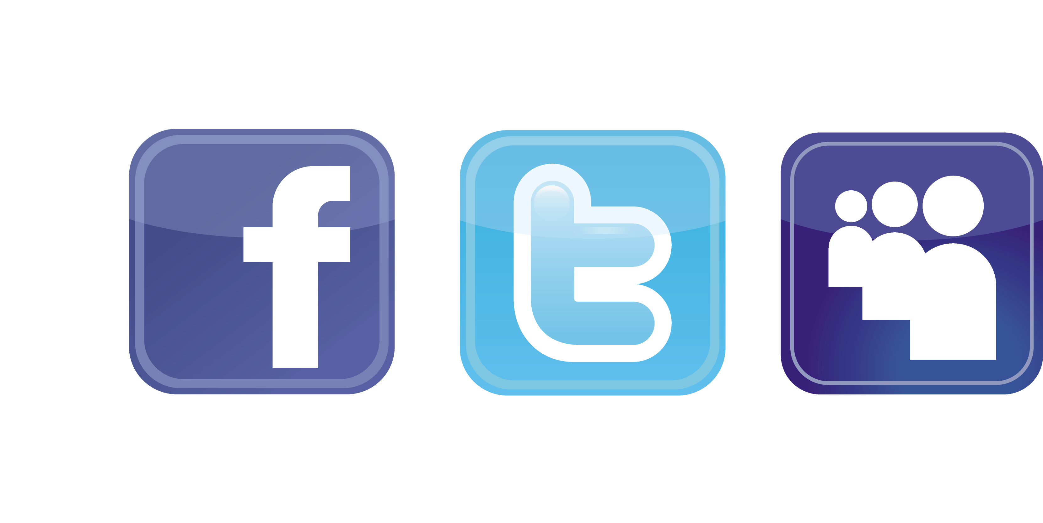 Twitter and facebook buttons png. Logo clipart best qwbnmj