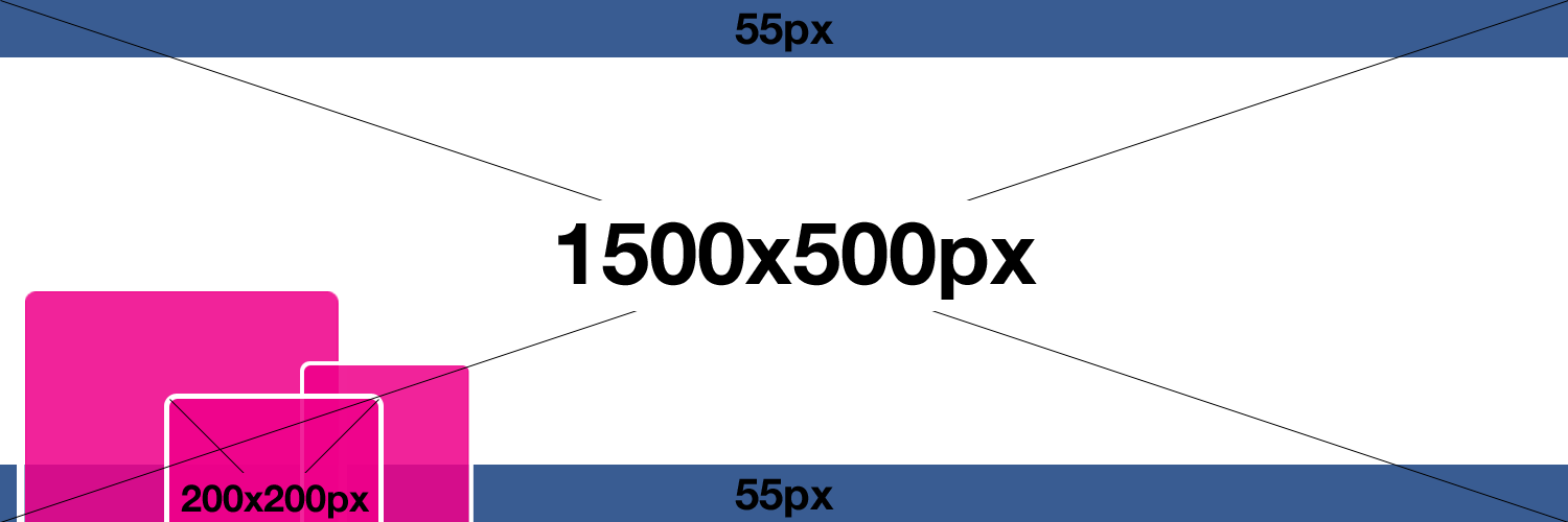Twitter banner png. Size vst banners template