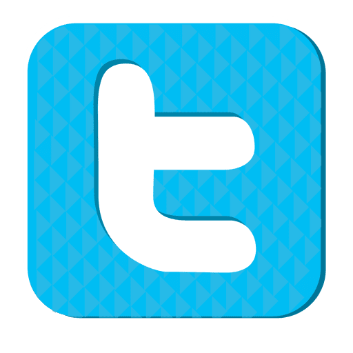 Twitter png icons. Silver icon transparent svg