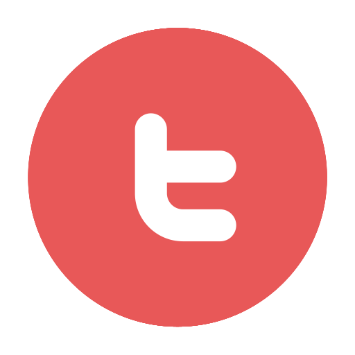 Red twitter png. Icons for free circular