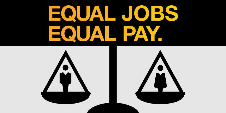 Democrats on gender pay. Twitter clipart liberal image black and white stock
