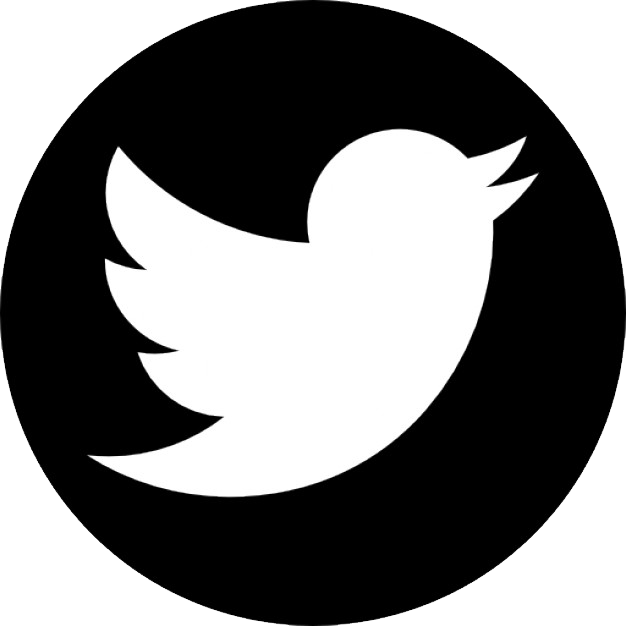 twitter logo black and white png