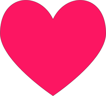 Twitter heart png. Has replaced the star