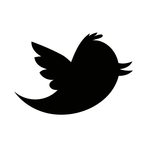 Twitter icon png black. Free icons