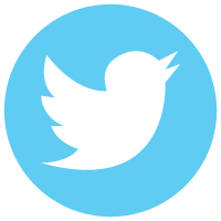 Image result for twitter icon in circle