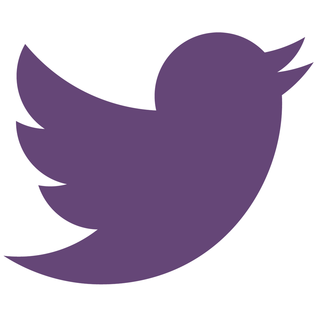 Purple education through music. Twitter logo 2016 png png stock