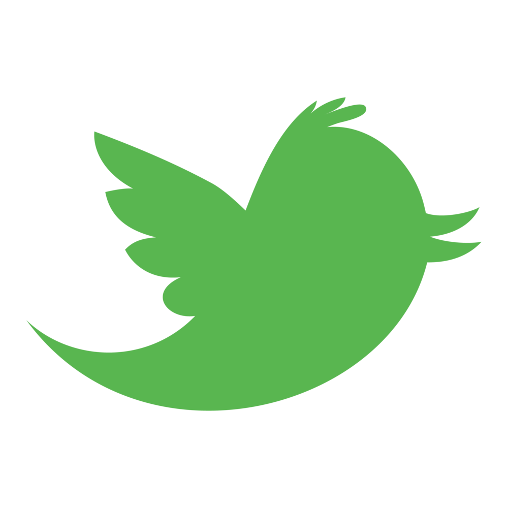 Twitter logo png green. The best resources for