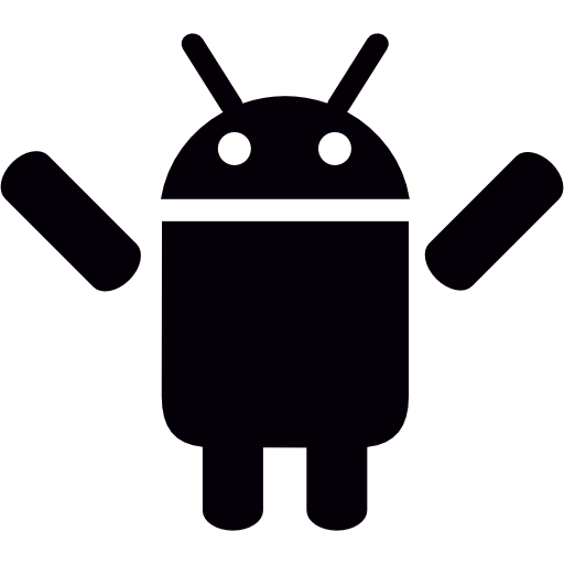 Two arms png. Android with up free