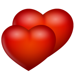 Two hearts png. Images in collection page