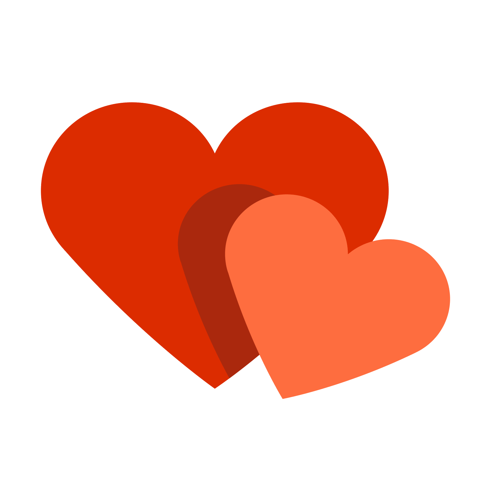 Two hearts png. Ic ne t l