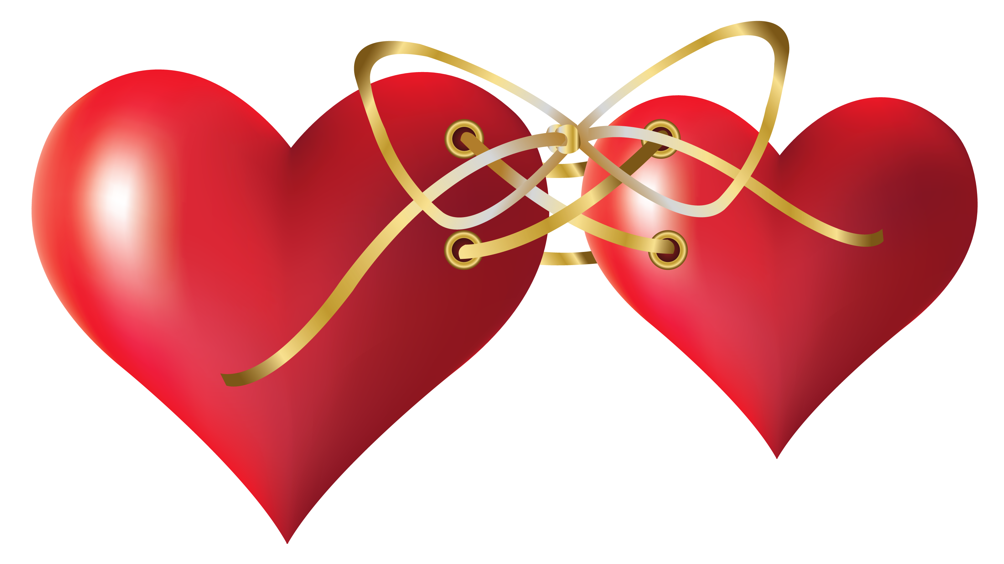 Two hearts png. Tied clipart gallery yopriceville