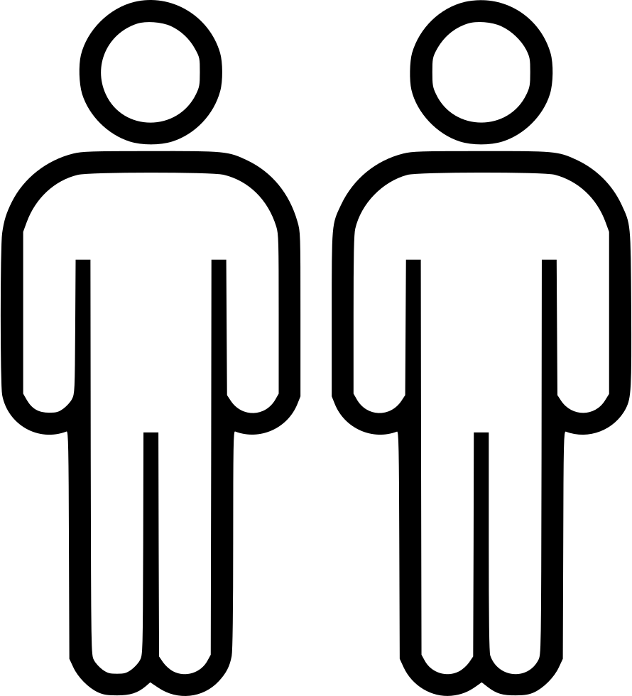 Two people png. Svg icon free download